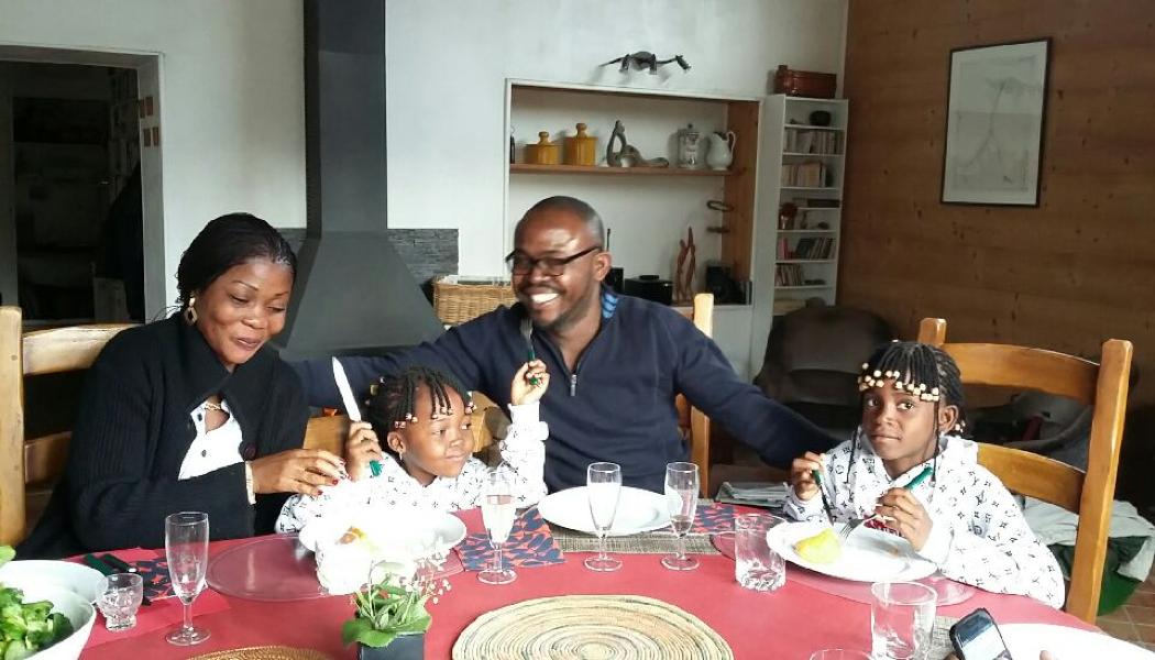 Une jeune famille congolaise