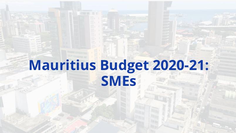 Mauritius Budget 2020-21: SMEs