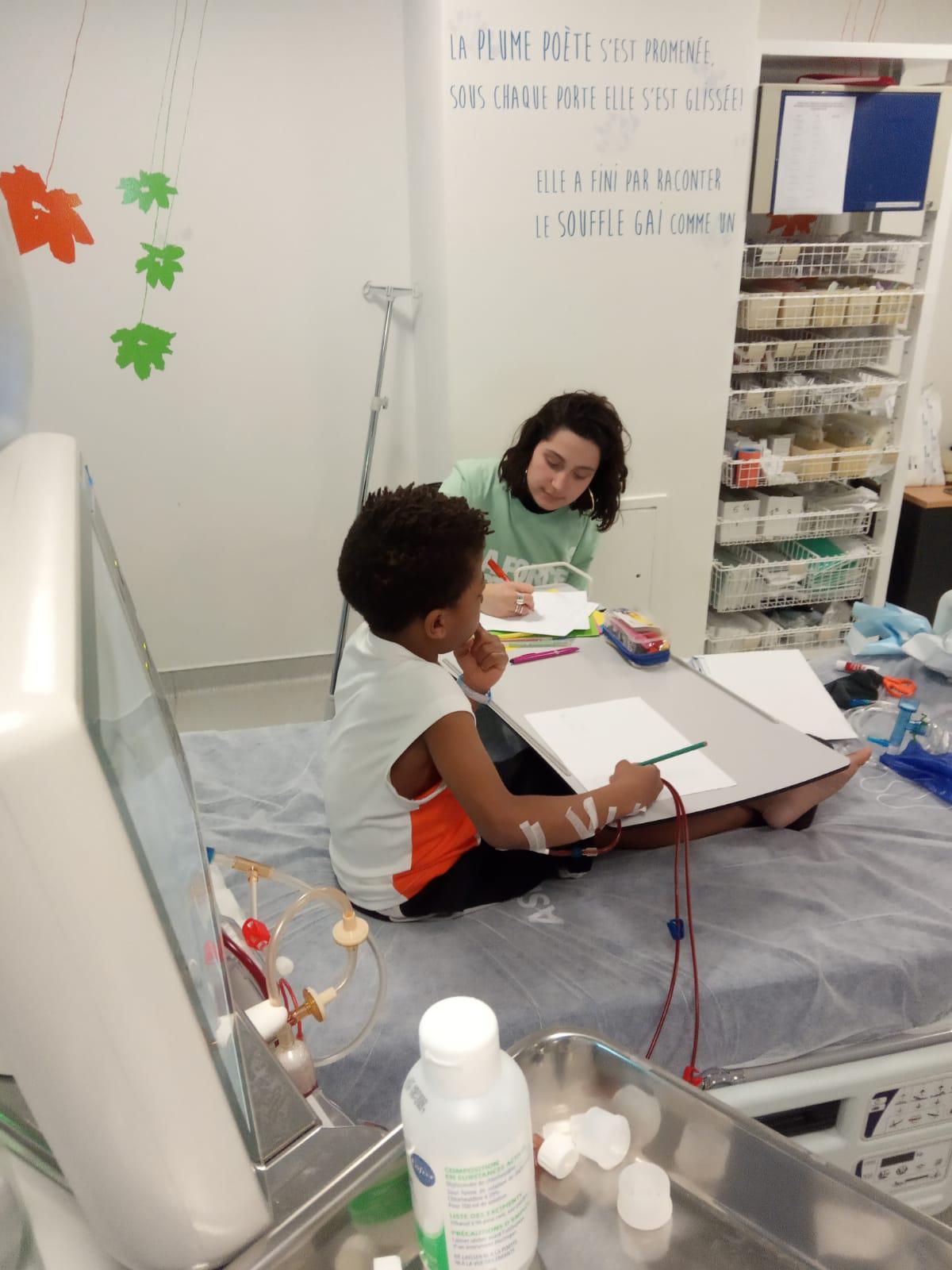 Apporter de la magie aux enfants hospitalisés à Jean-Verdier, Bondy (93) - L'ENVOL