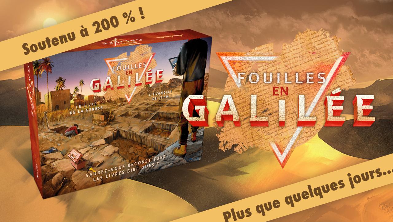 Le jeu de société Fouilles en Galilée en prévente !