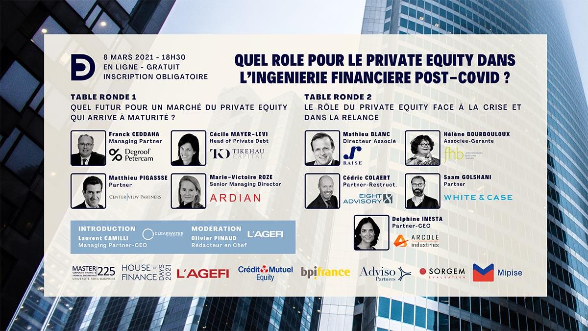 Mipise partenaire de la Conférence annuelle du Master 225 – Corporate Finance