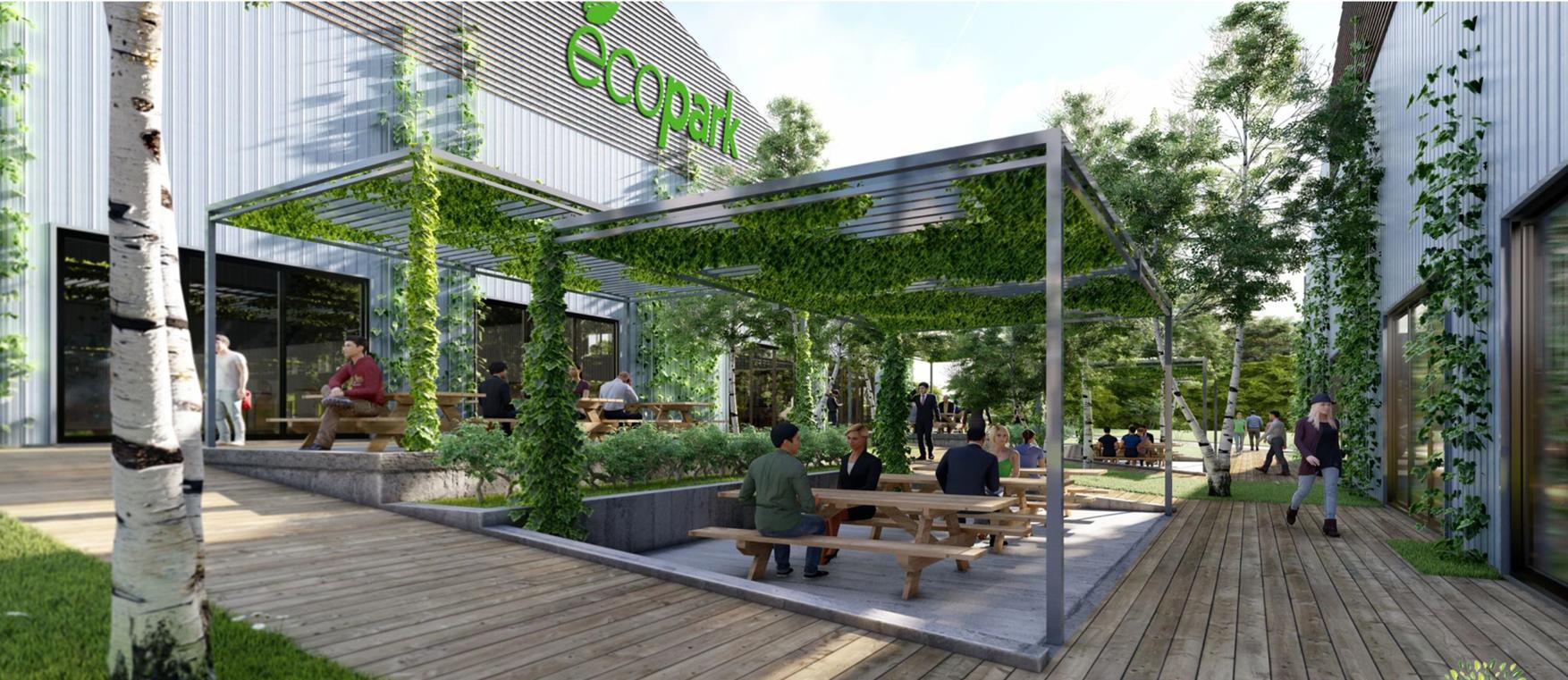 ECOPARK - Le parc locatif écoresponsable au service des artisans et PME de votre région
