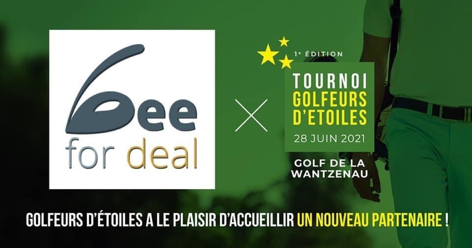 Golfeurs d'Etoiles, un événement caritatif au profit de l'association Semeurs d'Etoiles.