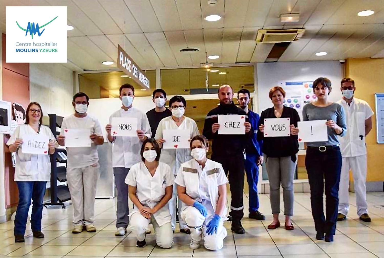 Mobilisons-nous avec l'hôpital de Moulins-Yzeure !