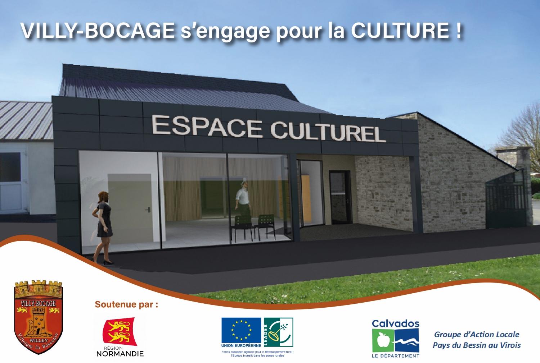 Villy-Bocage s'engage pour la Culture