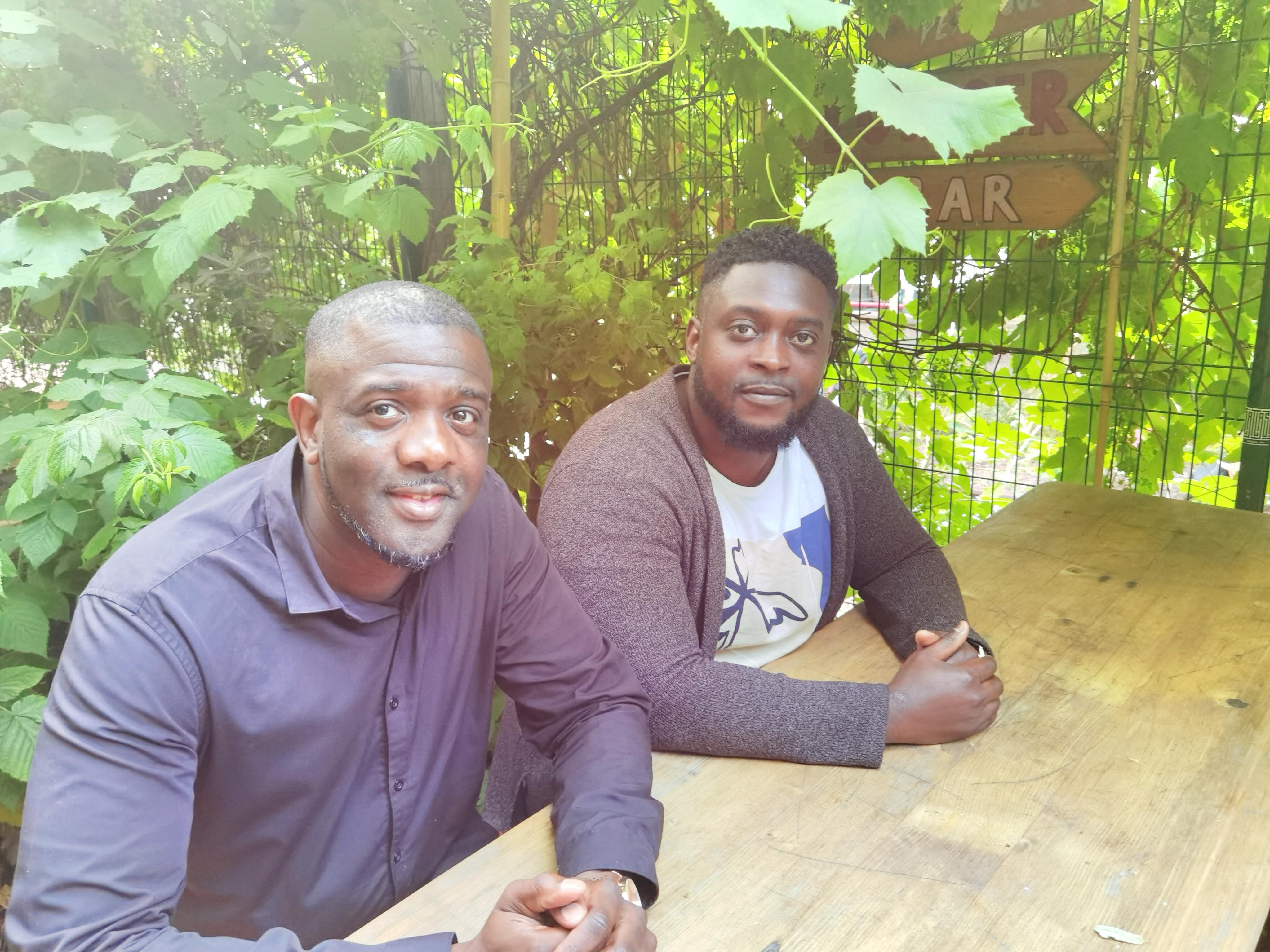 Les deux porteurs du projet LIBOKE
