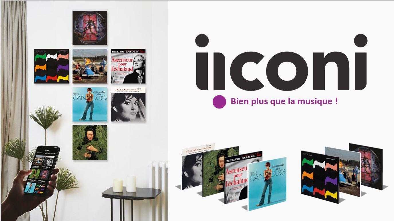 IICONI - Objet connecté premium et expérience digitale à l'image d'un artiste ou d'une œuvre