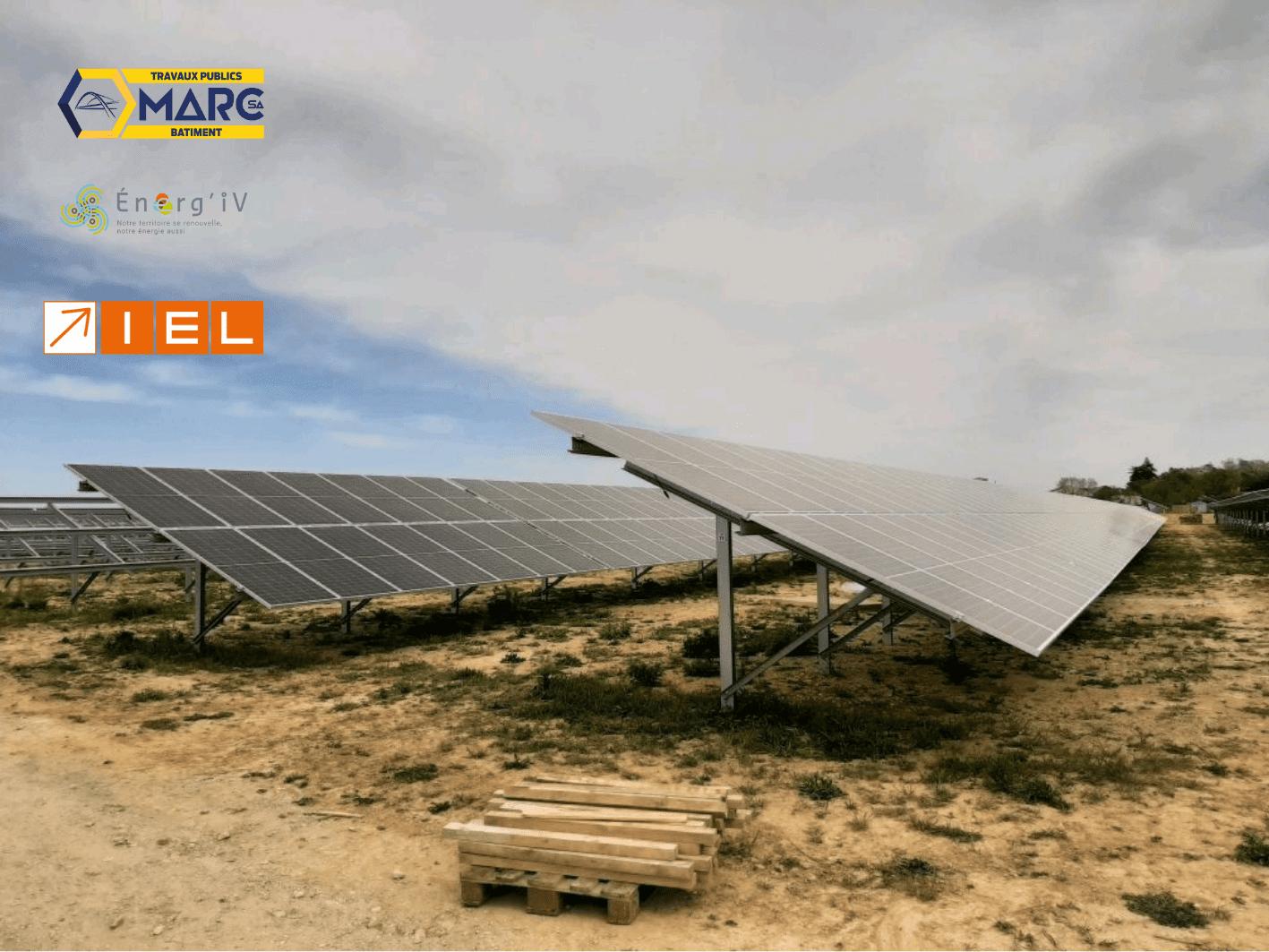 Centrale solaire de Bruz Pont-Péan