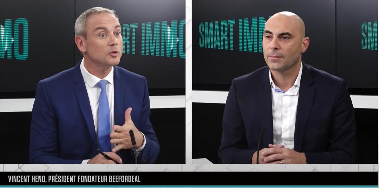 Interview B Smart du Président de Beefordeal Vincent HENO par Gilane BARRET