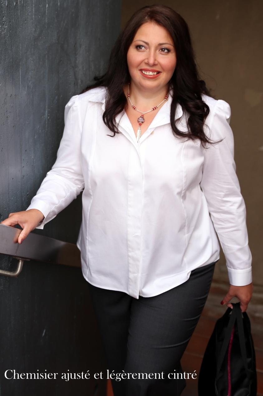 pantalon noir chemise blanche femme fashion designs. Black Bedroom Furniture Sets. Home Design Ideas