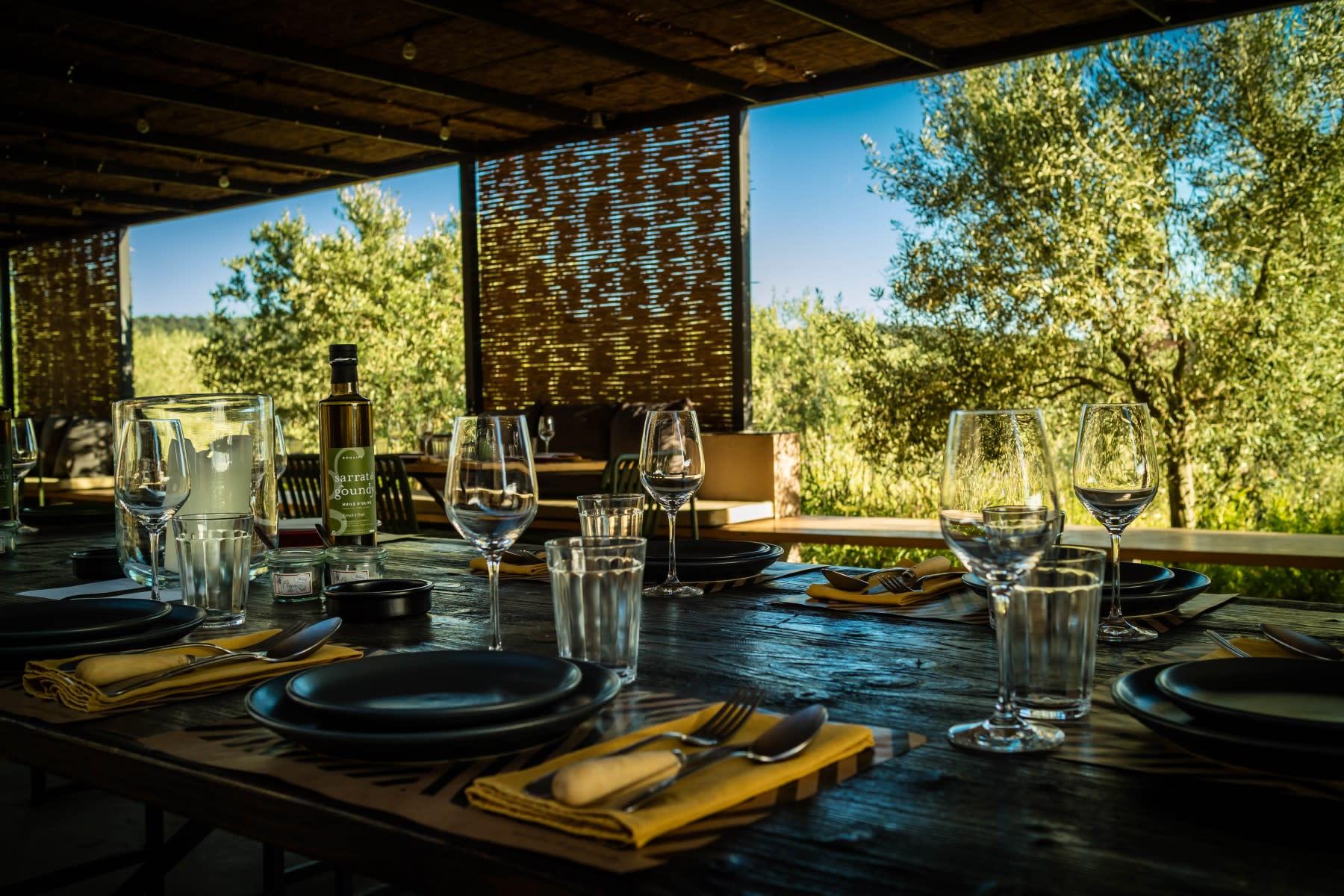 Table vigneronne Sarrat de Goundy