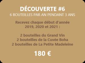 Achat 6 bouteilles de vin