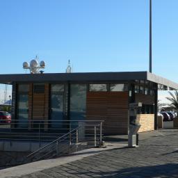 Port de Nice, module A, maison du Port et sanitaires