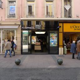 Mac Cannes façade rue d'Antibes