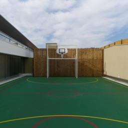Terrain de Sport toiture