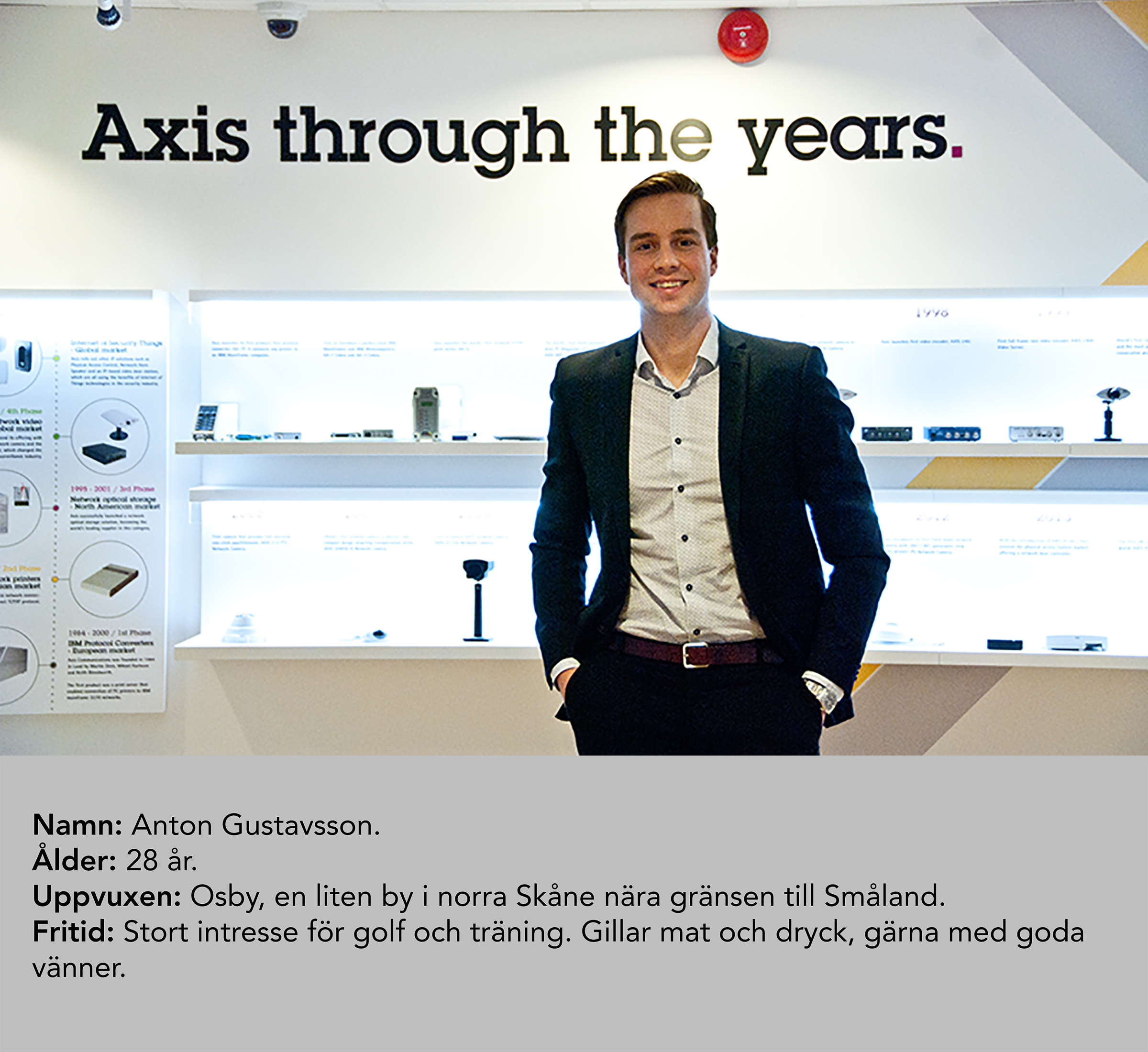 anton gustavsson axis communications