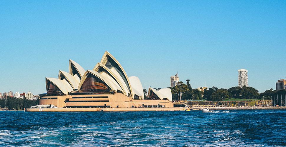 En månad i det vackra Australien