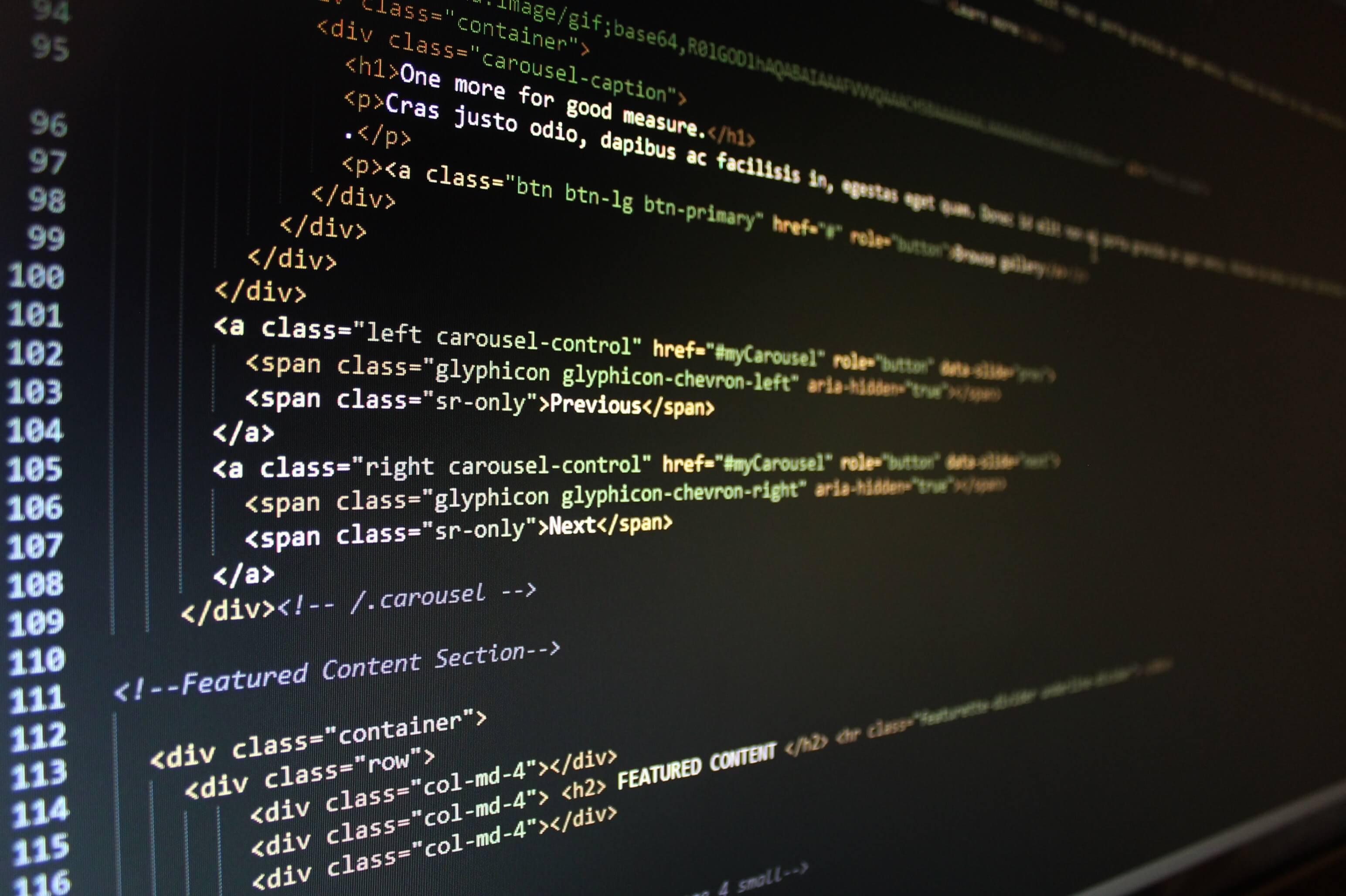 html kodning