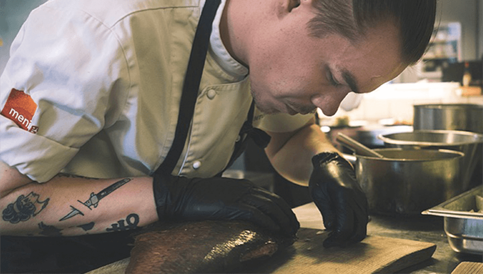 Hur är det att arbeta som kock? Intervju med Markus Ericsson