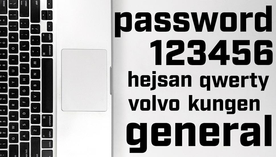 Stora lösenordsbytardagen! Så kommer du undan med ett lätt men säkert lösenord!