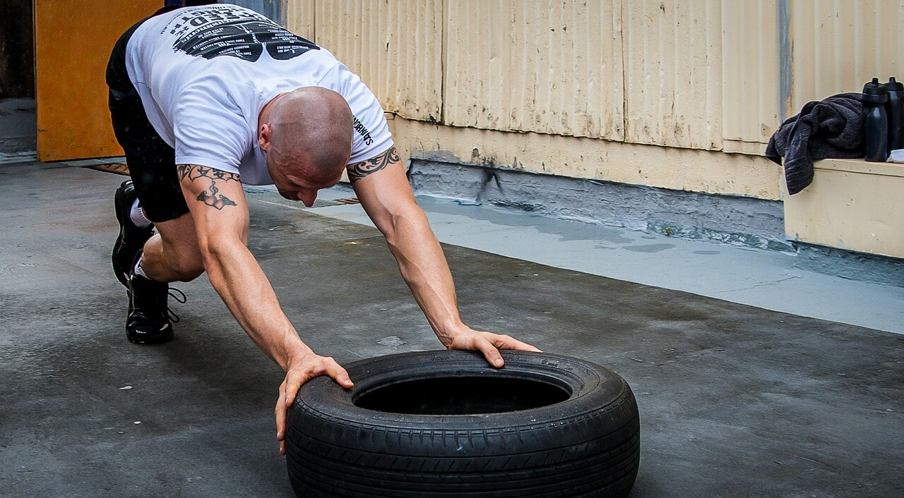 push-tire-workout