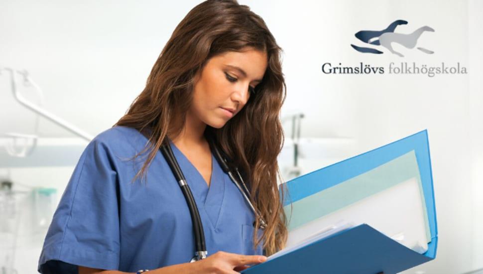 Gå allmän kurs och skaffa dig yrkesutbildning inom vård och omsorg samtidigt