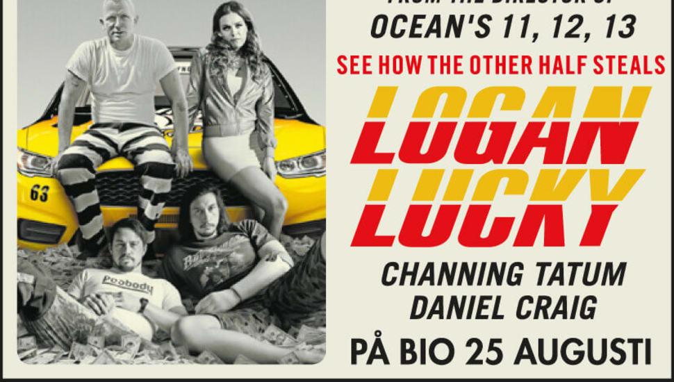 Logan Lucky - en stjärnpackad kupp