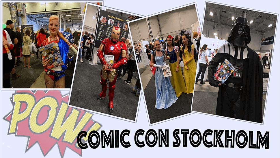 Comic Con: Nordens största och mest spännande mässa