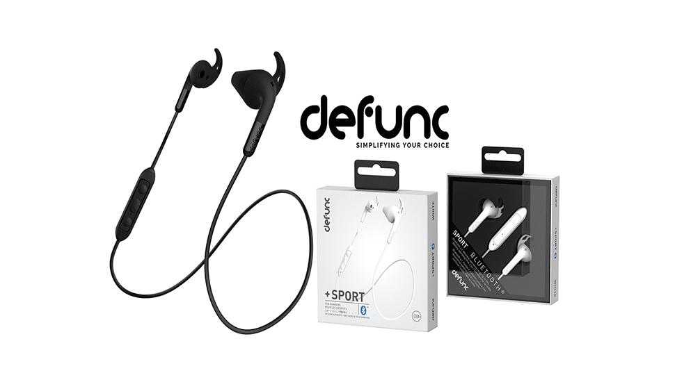 Uppfyll nyårslöftet med DeFuncs trådlösa sporthörlurar
