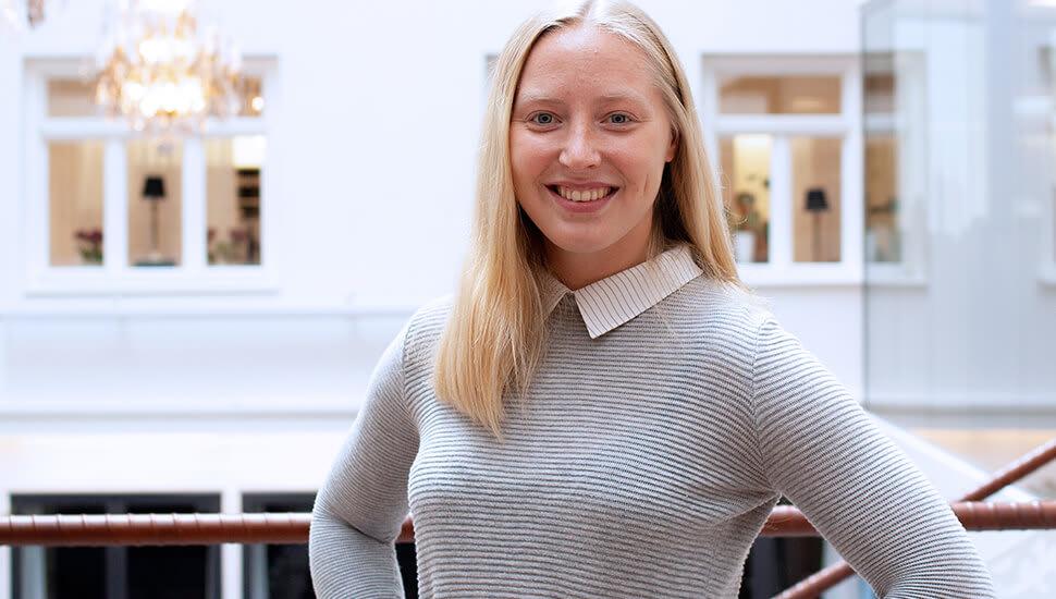 Linn vann ett års internship på Svenska Handelskammaren i Shanghai
