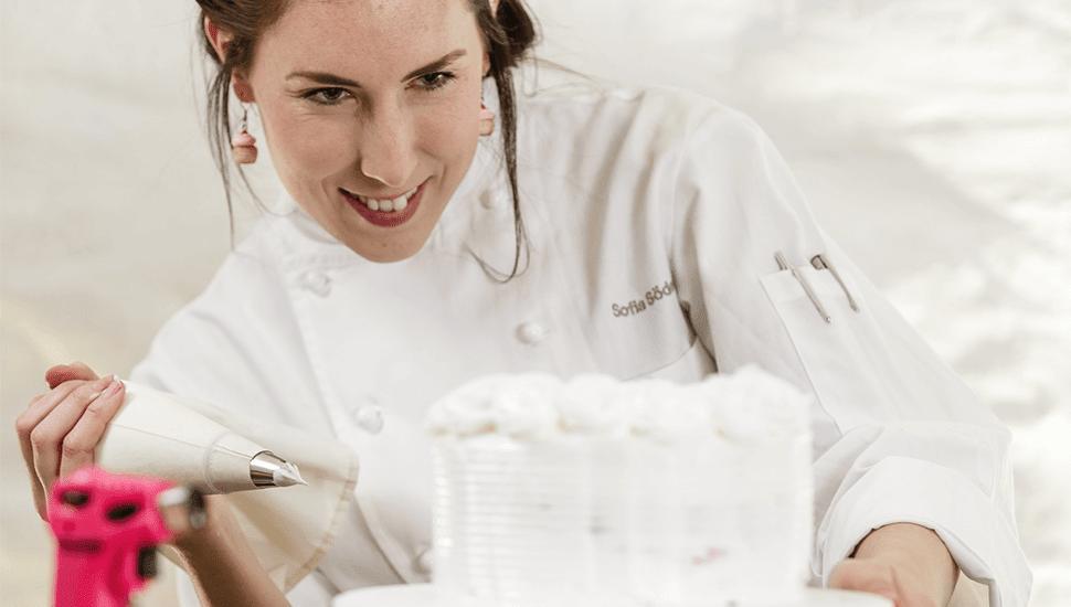 En Dessertmästare tar form - bloggen tog Sofia Söderberg till TV-rutan
