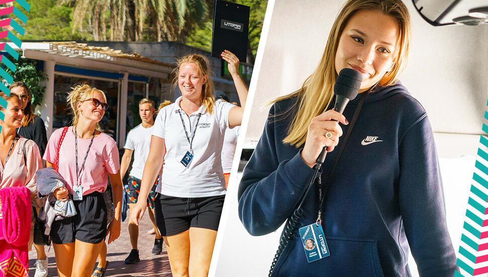 Camilla kickstartade sin karriär i resebranschen - med en 5 veckors reseledareutbildning på Utopia Guideschool