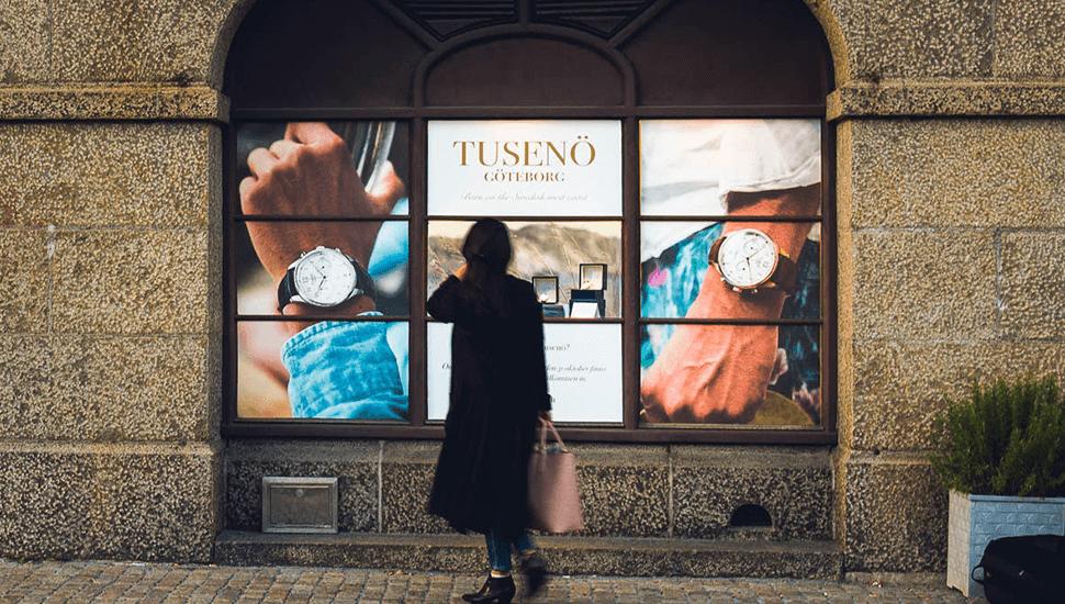 Internationellt hyllade Tusenö vars klocka har kommit att bli en ny klassiker