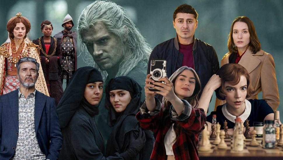 De 10 bästa serierna 2020