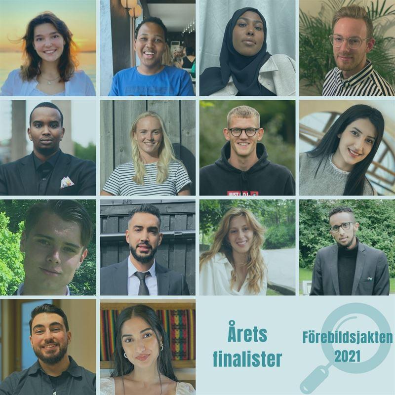 Här är finalisterna i Förebildsjakten 2021