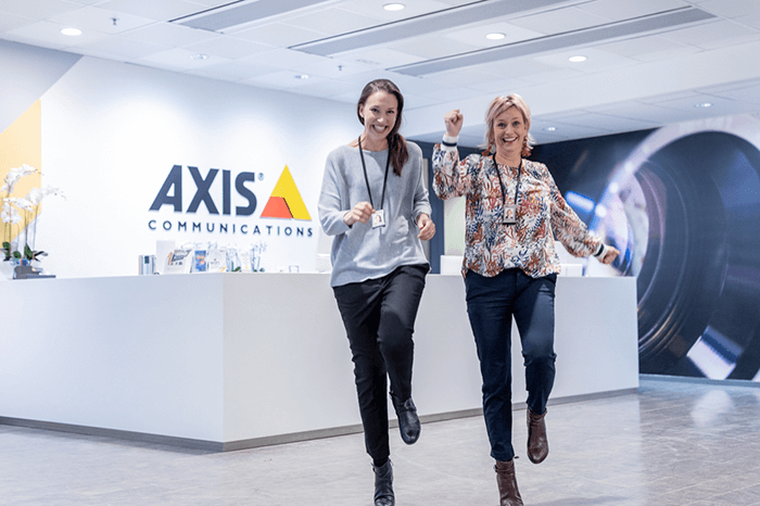 louise modig camilla johansson axis communications