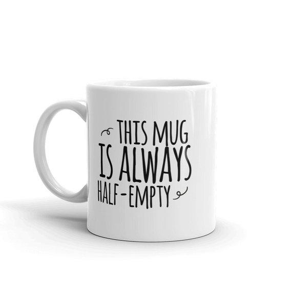 mugg present till pessimist