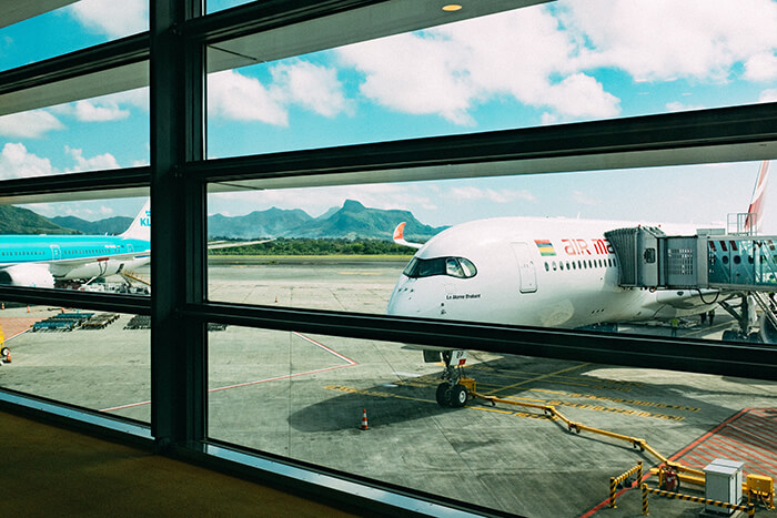 kommersiellt flygplan
