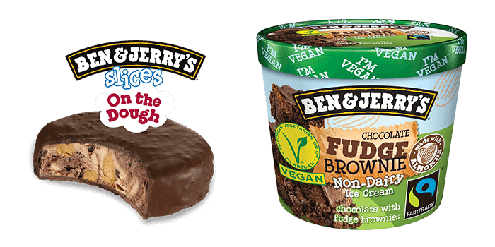 ben and jerry glassnyhet 2019 slices on the dough