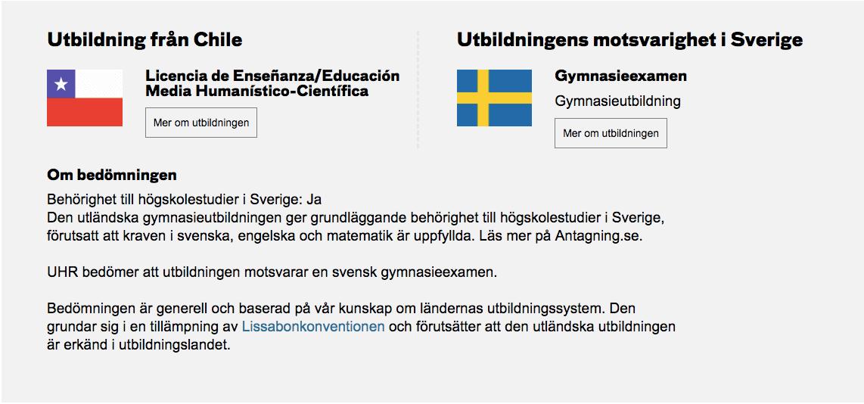 Översätta svenska betyg till engelska