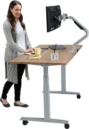 Kat About Us Standing Desk
