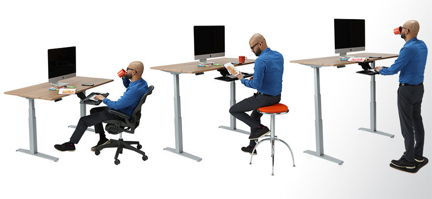 Multiple Desk Positions