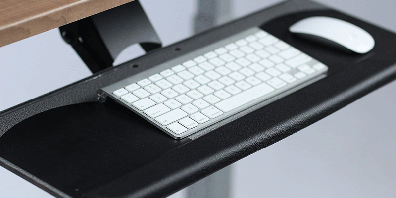Adjustable Keyboard Tray for Adjustable Height Desk