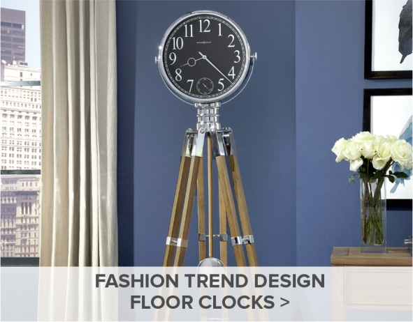 Howard Miler Fashion Trend Clocks