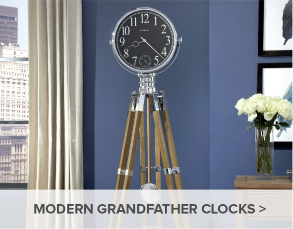Howard Miller Modern Grandfather Clocks