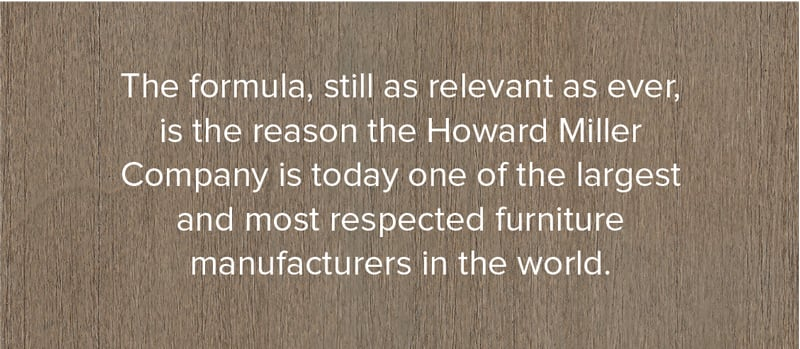 Howard Miller is a Respected Furniture Manufacturer