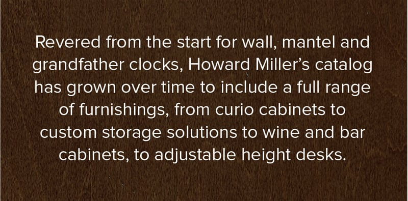 Howard Miller Clock Collection