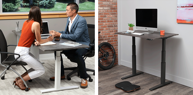 Easy Assembly of SmartMoves Adjustable Height Desk