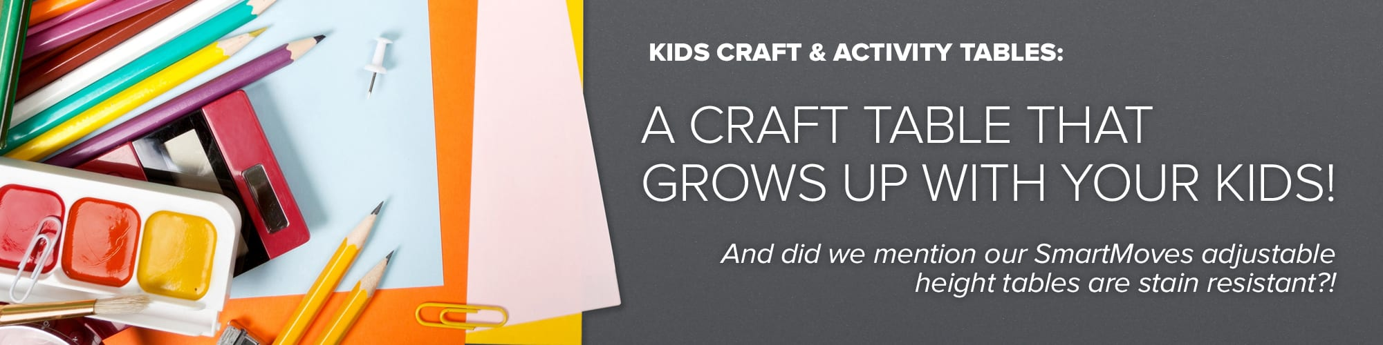 Kids Craft and Activity Page Banner