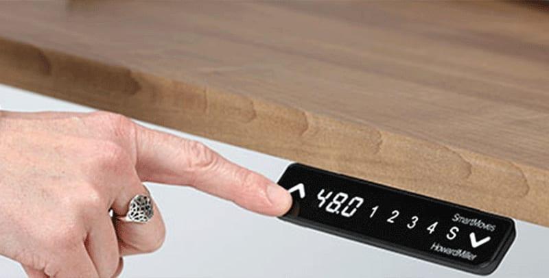SmartMoves Keypad for Adjustable Height Desk